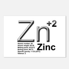 Zinc Postcards (Package of 8)