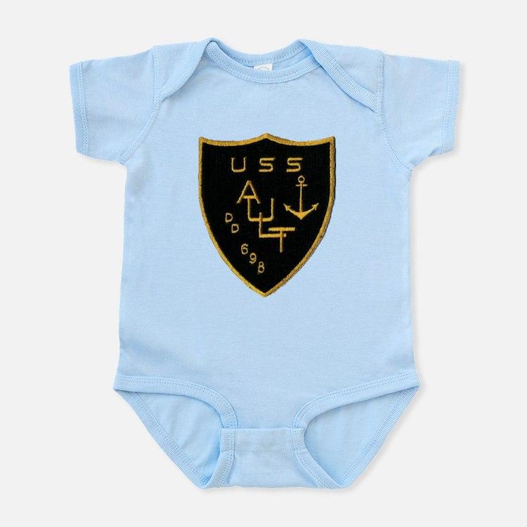 USS AULT Infant Creeper