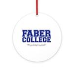 FABER COLLEGE - ornament