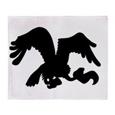 Vulture Throw Blanket