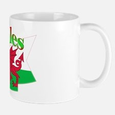 Welsh Decorative Ribbon Mug Mugs
