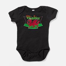 Welsh decorative ribbon Baby Bodysuit