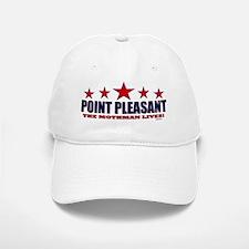 Point Pleasant The Mothman Lives Baseball Baseball Cap