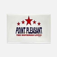 Point Pleasant The Mothman Lives Rectangle Magnet