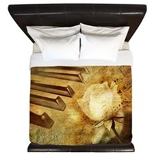 Classic Piano Melody King Duvet