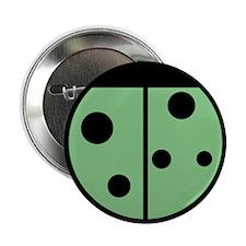 Ladybug Button (Green)