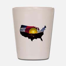 Colorado States of Mind Shot Glass