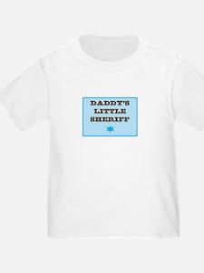 Daddy's Little Sheriff T