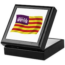 Balearic Islands Flag Keepsake Box