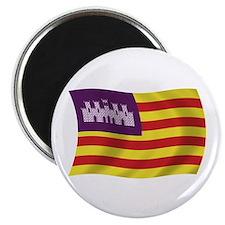 "Balearic Islands Flag 2.25"" Magnet (100 pack)"