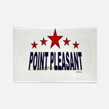 Point Pleasant Rectangle Magnet