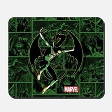 Iron Fist Panels Mousepad