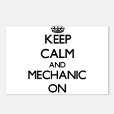 Keep Calm and Mechanic ON Postcards (Package of 8)