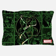 Iron Fist Panels Pillow Case