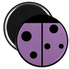 Ladybug Magnet (Purple 10 pk)