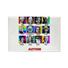 Funny Autism Rectangle Magnet