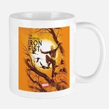Iron Fist Green Painting Mug