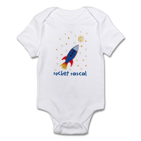 Resden Rocket ship Infant Bodysuit