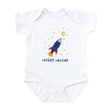 Resden Rocket ship Infant Bodysuit