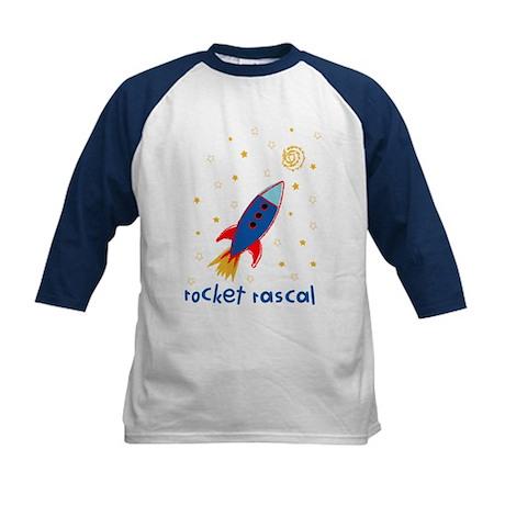 Resden Rocket ship Kids Baseball Jersey