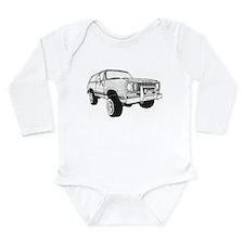 Cute Rc car Long Sleeve Infant Bodysuit