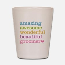Awesome Groomer Shot Glass