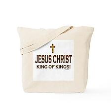 Jesus Christ King of Kings Tote Bag
