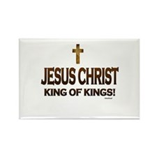 Jesus Christ King of Kings Rectangle Magnet
