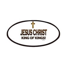 Jesus Christ King of Kings Patches