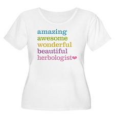 Herbologist Plus Size T-Shirt