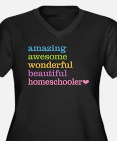 Homeschooler Plus Size T-Shirt