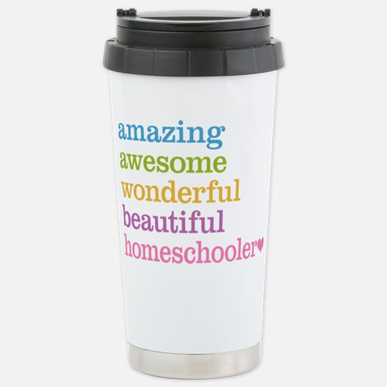 Homeschooler Stainless Steel Travel Mug