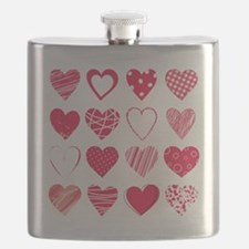 Hearts Flask