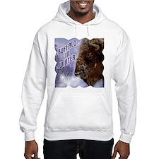Buffalo in Winter Hoodie