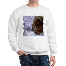 Buffalo in Winter Sweatshirt
