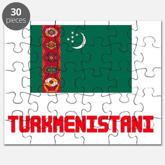Turkmenistani Flag Design Puzzle