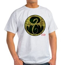 Iron Fist Icon Distressed T-Shirt