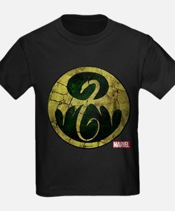 Iron Fist Icon Distressed T