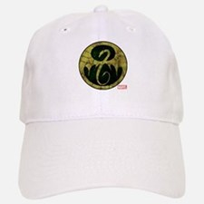 Iron Fist Icon Distressed Baseball Baseball Cap