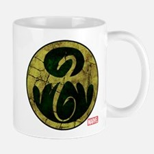 Iron Fist Icon Distressed Mug