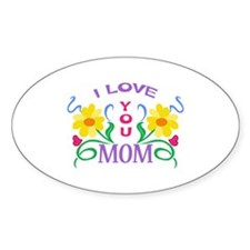 I LOVE YOU MOM Decal