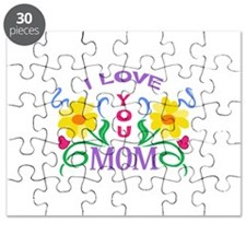 I LOVE YOU MOM Puzzle