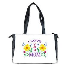 I LOVE YOU MOM Diaper Bag