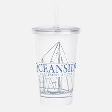 Oceanside CA - Acrylic Double-wall Tumbler