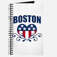 Boston Stars and Stripes Hea Journal
