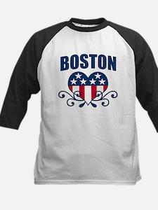 Boston  Stars and Stripes Hea Tee