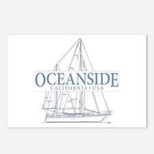 Oceanside CA - Postcards (Package of 8)