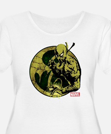 Iron Fist On T-Shirt