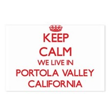 Keep calm we live in Port Postcards (Package of 8)