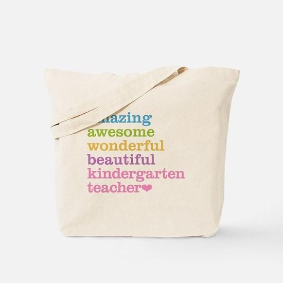 Kindergarten Teacher Tote Bag